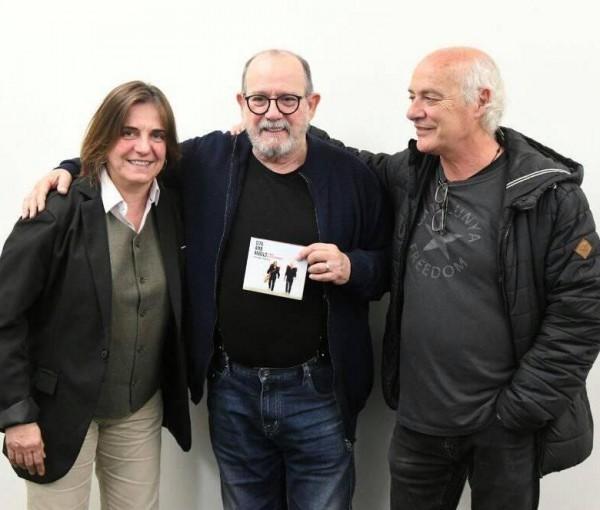 El disco 'Cita amb àngels' de Joan Isaac y Sílvia Comes.opta al Premio Internacional Cubadisco 2020