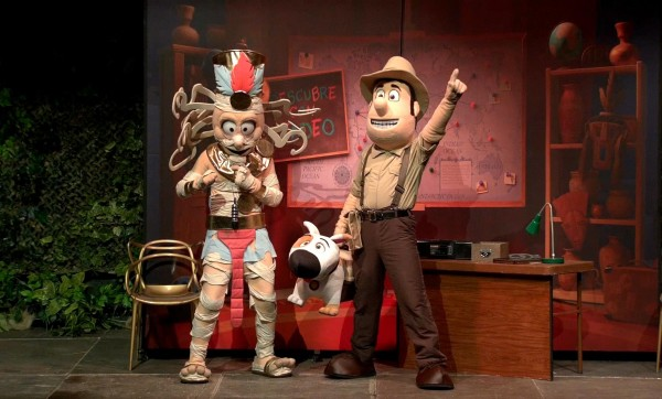 El musical 'Tadeo Jones' se instala en el Coliseum de Barcelona