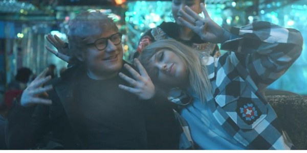 Taylor Swift y Ed Sheeran lanzan el clip de la temporada End Game'